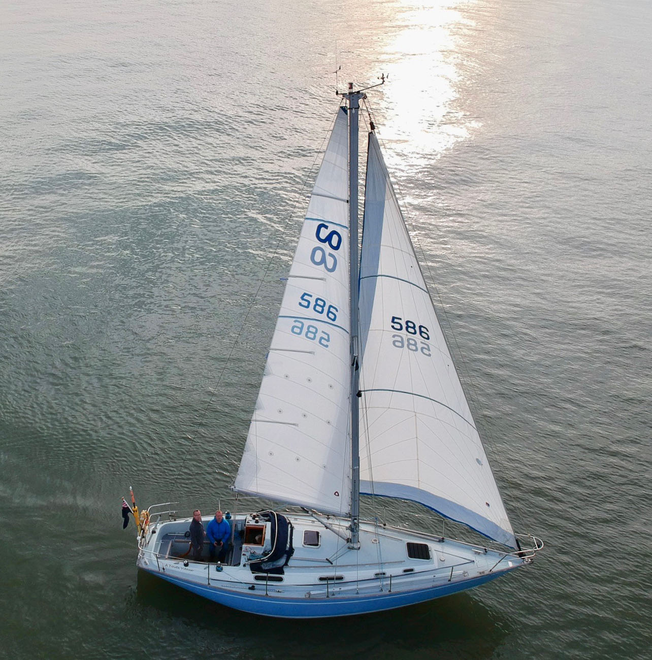 ATV sailing in the Solent